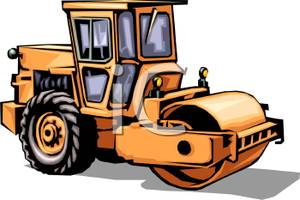 A_Steam_Roller_Construction_Vehicle_Royalty_Free_Clipart_Picture_090812-140787-696042